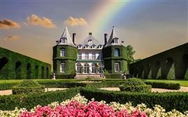 Castillo verde, jardín