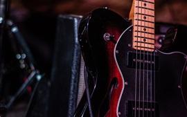 Guitare, basse, musica