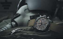 Preview wallpaper IWC black watch