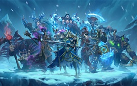 Preview wallpaper Knights of the Frozen Throne