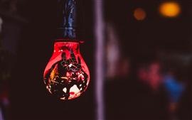 Iluminação da lâmpada, escuridão