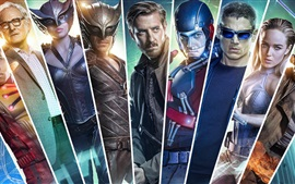 Preview wallpaper Legends of Tomorrow, TV series, characters