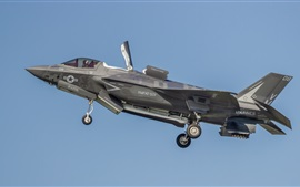 Preview wallpaper Lockheed Martin F-35B Lightning II fighter