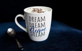 Preview wallpaper Mug, spoon