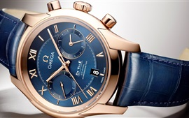 Preview wallpaper Omega watch, blue