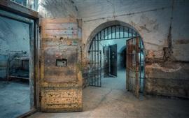Preview wallpaper Prison, interior, hall