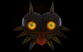 The Legend of Zelda, mask, eyes