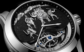 Preview wallpaper Ulysse Nardin watch, war