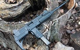 Preview wallpaper Uzi 9mm machine gun