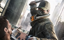 Preview wallpaper Watch Dogs, stick, cap