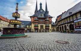 Preview wallpaper Wernigerode, Germany, city, houses