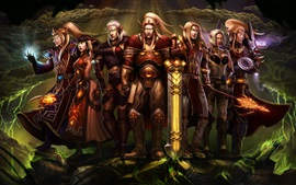 World of Warcraft, elfo, foto de arte