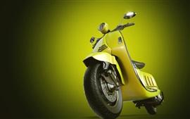壁紙のプレビュー 黄色のオートバイ