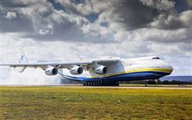 Antonov 225 avião, aeroporto