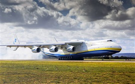 Aperçu fond d'écran Antonov 225 avion, aéroport