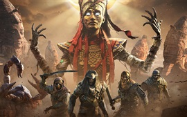 Preview wallpaper Assassin's Creed: Origins, Mummy, Ubisoft games