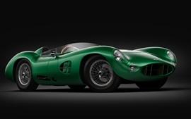 Coche deportivo verde Aston Martin DBR1