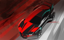 Preview wallpaper BMW concept car, design