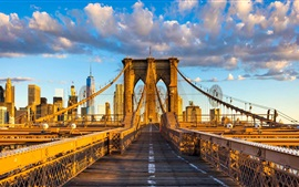 Brooklyn bridge, New York, EUA