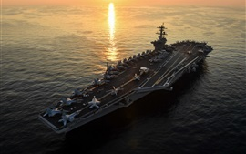 Preview wallpaper CVN-71 aircraft carrier, USS Theodore Roosevelt