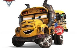 Cars 3, school bus