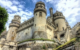 Preview wallpaper Chateau de Pierrefonds, castle, France