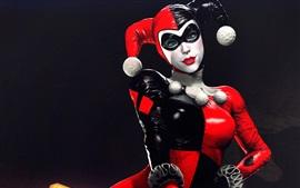 Cómics de DC, Harley Quinn, villano, niña, payaso