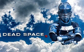 Preview wallpaper Dead Space 3, sky, clouds