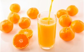 Preview wallpaper Delicious orange juice, drinks