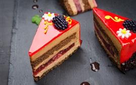 Preview wallpaper Dessert, cake, cream, decoration