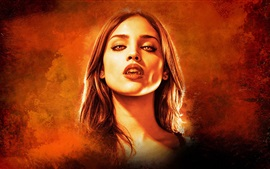 Preview wallpaper Eiza Gonzalez, vampire, From Dusk Till Dawn, TV series