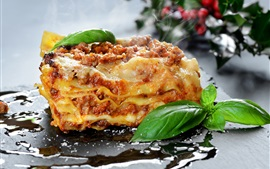 Preview wallpaper Food, lasagna