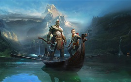 Preview wallpaper God of War, Sony video game