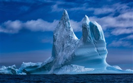 Preview wallpaper Greenland, iceberg, sea, ice