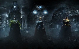Injustice 2, Batman, Superman, Supergirl