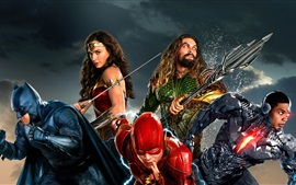 Preview wallpaper Justice League, Sci-Fi movie, DC Comics