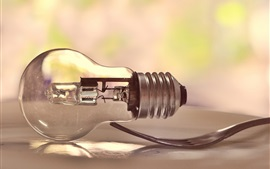 Preview wallpaper Light bulb and fork