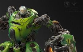 Aperçu fond d'écran Paragon, robot, jeux épiques
