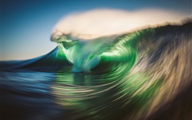 Preview wallpaper Sea wave, nature power