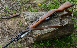 Preview wallpaper Self-loading Simonov SKS carbine