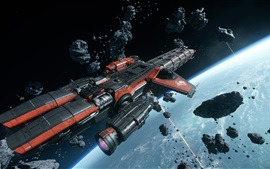 Star Citizen, starship, space, juegos de PC