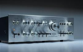 Stereo Amplifier, face board