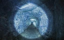 Preview wallpaper Tunnel, light, Yosemite National Park, USA