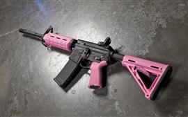 Aperçu fond d'écran AR-15 fusil d'assaut, arme