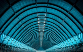 Arquitetura, estrutura, arco redondo, túnel
