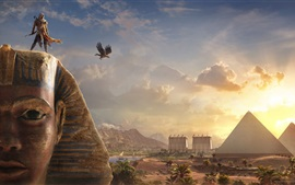 Preview wallpaper Assassin's Creed: Origins, Sphinx, Egypt