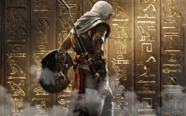 Preview wallpaper Assassin's Creed: Origins, Ubisoft, back view