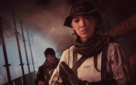 Preview wallpaper Battlefield 4, chinese girl