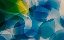 Blue pattern, paint, lines