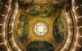Brasil, Teatro Amazonas, sala, techo